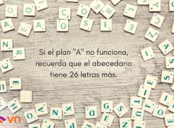 """Si el plan """"A"""" no funciona…"""
